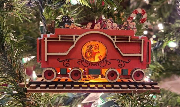 Santa's NP Express Tender - Schmidt Christmas Market Christmas Decoration