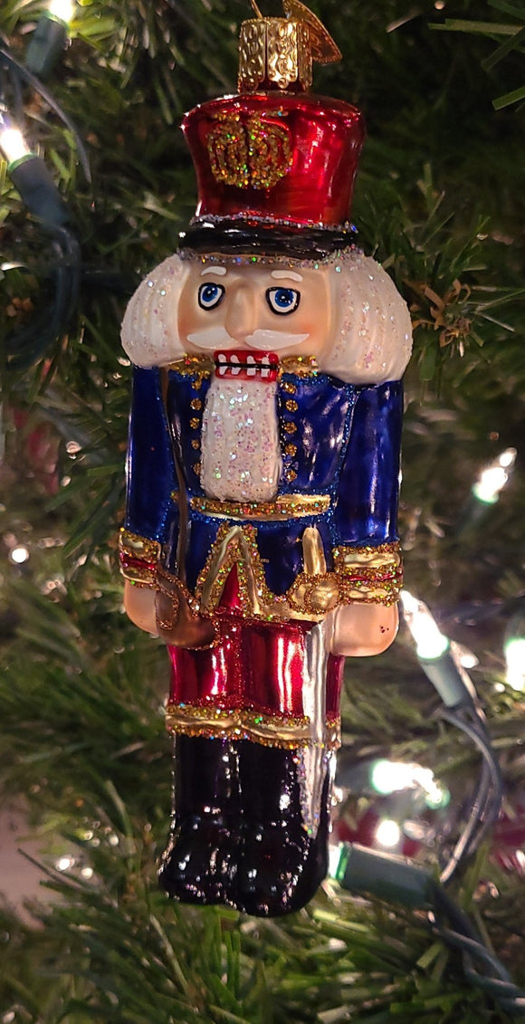 Soldier Nutcracker Blue 6 inch - Schmidt Christmas Market Christmas Decoration