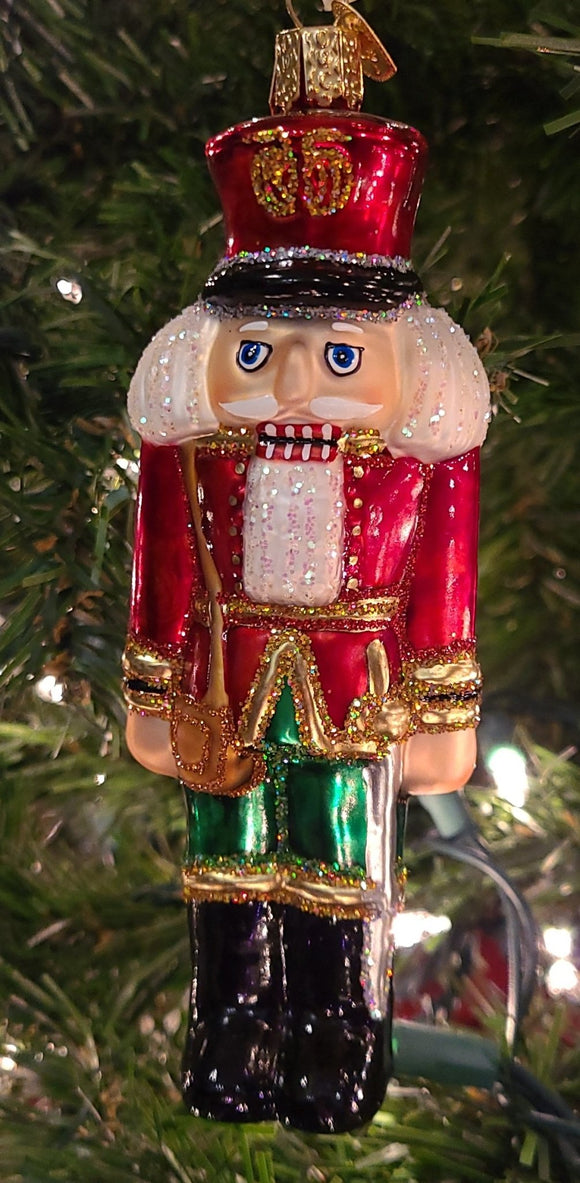 Soldier Nutcracker Green 6 inch - Schmidt Christmas Market Christmas Decoration