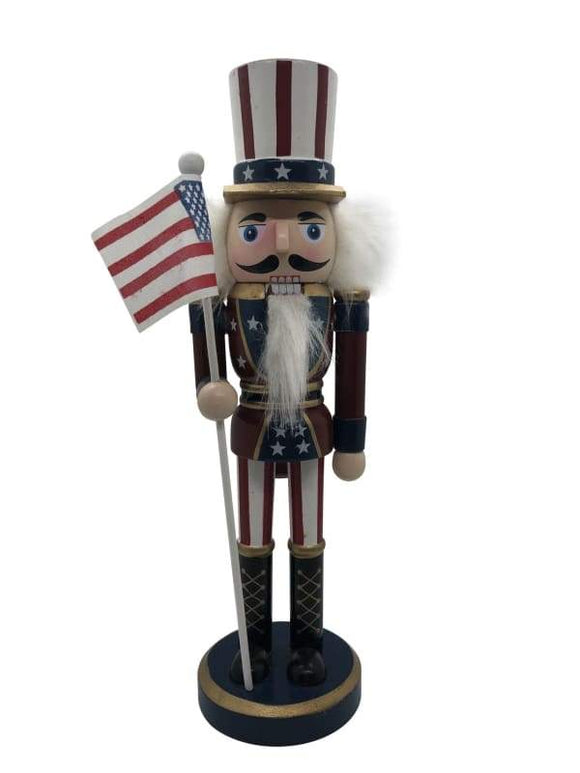 Uncle Sam Nutcracker - Schmidt Christmas Market Christmas Decoration