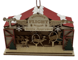 Wood Village Reindeer Flight School - Schmidt Christmas Market Dekorasyon ng Pasko