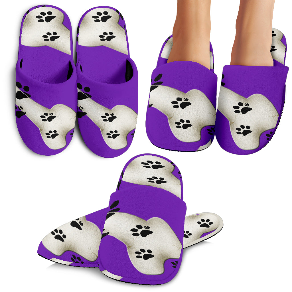 Purple paws Slippers