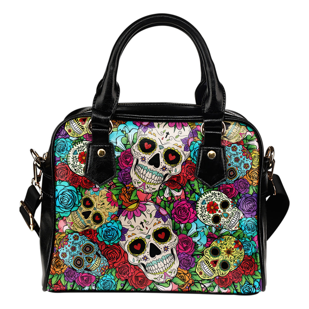 Sugar Skull Shoulder Bag