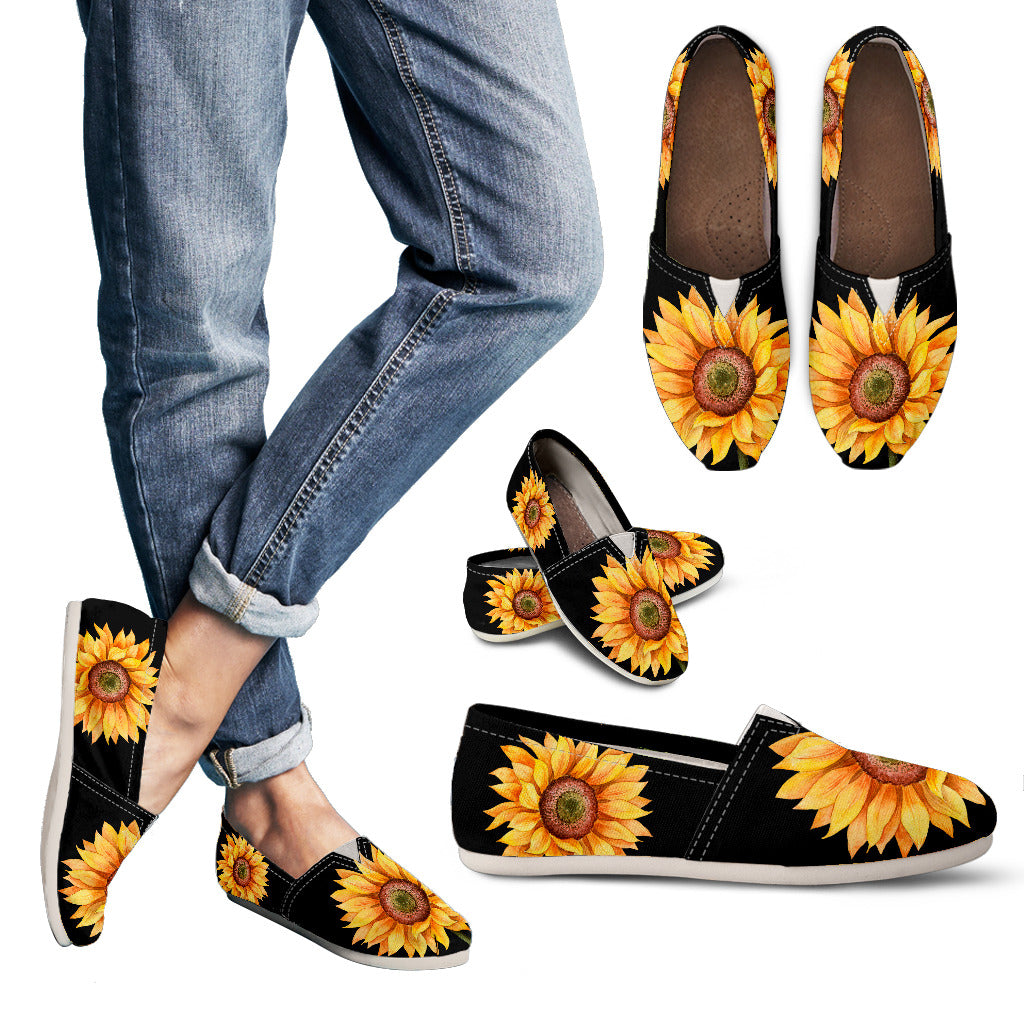Sunflower Handcrafted Casual Shoes