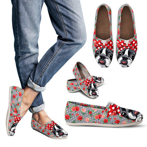 Roses and Bulldog Handcrafted Casual Shoes