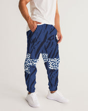 Load image into Gallery viewer, Blue Animal Texture Men's Track Pants