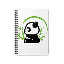 Load image into Gallery viewer, Baby Panda-Spiral Notebook - Ruled Line