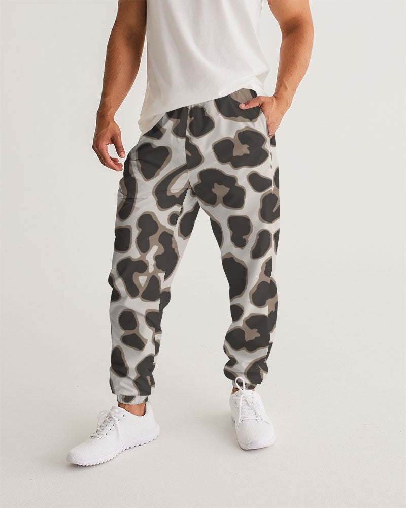 Leopard Brown Men's Track Pants