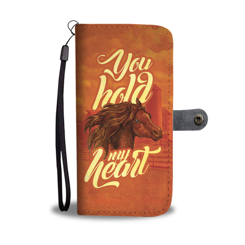 You Hold My Heart- Wallet Phone Case