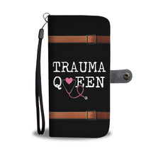 Load image into Gallery viewer, Trauma Queen - Wallet Phone Case