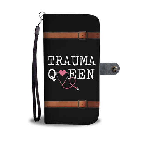 Trauma Queen - Wallet Phone Case
