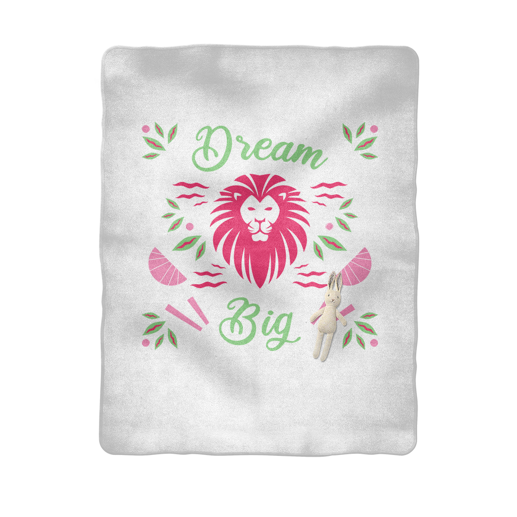 Dream Big Sublimation Baby Blanket