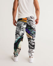 Load image into Gallery viewer, Tropical flowers and toucan birds Men's Track Pants