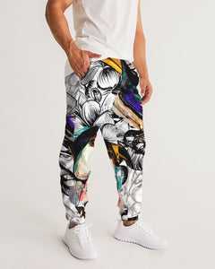 Tropical flowers and toucan birds Men's Track Pants