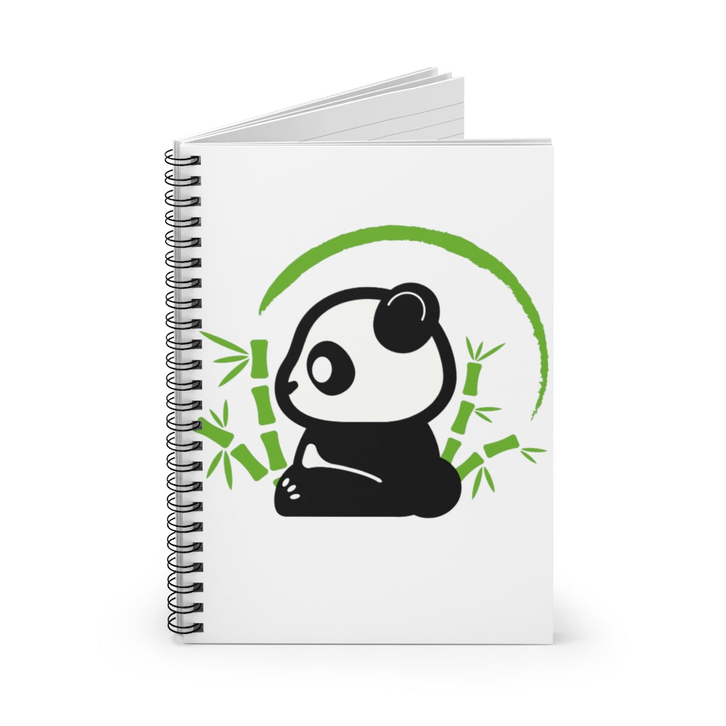 Baby Panda-Spiral Notebook - Ruled Line
