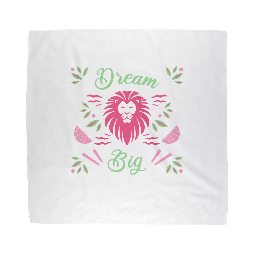 Dream Big Sublimation Bandana