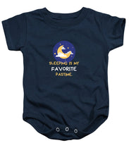 Load image into Gallery viewer, Favorite Past Time - Baby Onesie