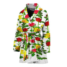 Load image into Gallery viewer, Women's Bath Robe - Roses