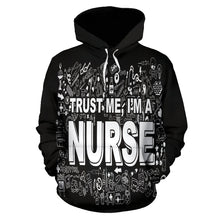 Load image into Gallery viewer, I'm a Nurse Hoodie
