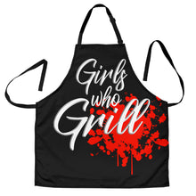 Load image into Gallery viewer, Girls Who Grill Womens Apron