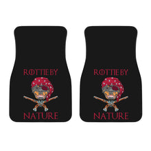 Load image into Gallery viewer, Rottie By Nature Universal Front Car Mats