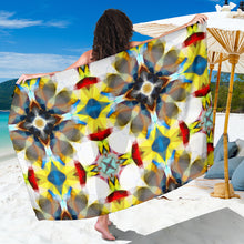 Load image into Gallery viewer, Yellow/blue sarong