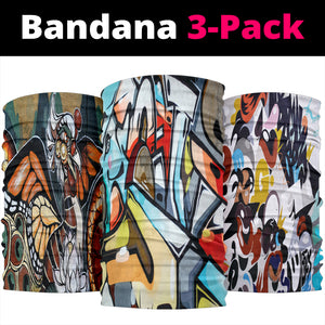 Street Art Set - Bandana 3 Pack