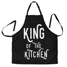 Load image into Gallery viewer, Men's Apron King Of The Kitchen