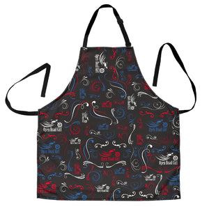 Rainbow Open Road Girl Apron