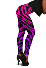 Load image into Gallery viewer, RAINBOW ZEBRA Leggings