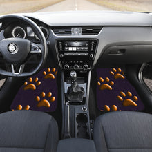 Load image into Gallery viewer, Orange paws CAR FLOOR MATS