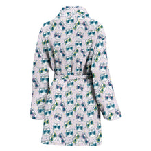 Load image into Gallery viewer, Happy Cat Bath Robe Women's Bath Robe