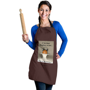 Women's Apron - Breakfast