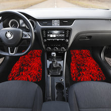 Load image into Gallery viewer, Digital Camouflage Red Front Car Mats (Set Of 2)