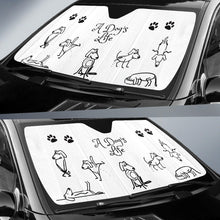 Load image into Gallery viewer, A DOG'S LIFE AUTO SUN SHADE