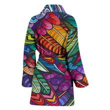 Load image into Gallery viewer, Boho Feather Women's Bath Robe