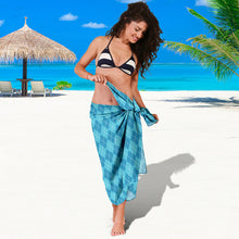 Load image into Gallery viewer, Blue Argyle Sarong