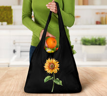 Load image into Gallery viewer, Sunflower Reusable Grocery Bags Set