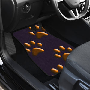 Orange paws CAR FLOOR MATS