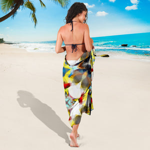 Yellow/blue sarong