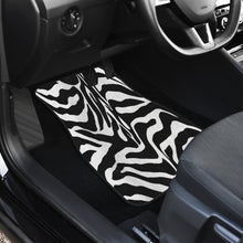 Load image into Gallery viewer, Zebra Print Custom Front Car Mats (Set Of 2)