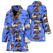 Load image into Gallery viewer, Dog and bones WOMEN'S BATH ROBE