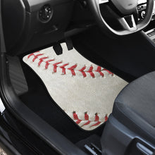 Load image into Gallery viewer, Baseball Front And Back Car Mats (Set of 4)