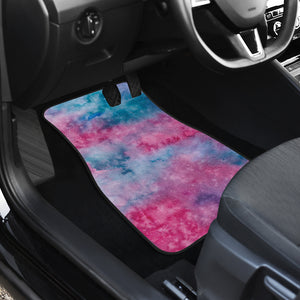 Watercolor Pink Front Car Mats