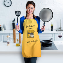 Load image into Gallery viewer, Women's Apron - Lick The Bowl
