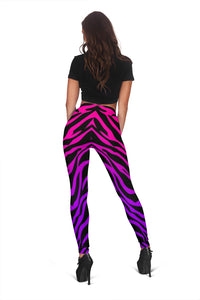 RAINBOW ZEBRA Leggings