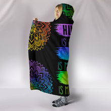 Load image into Gallery viewer, Humanity Hooded Blanket