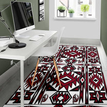 Load image into Gallery viewer, Native Stylish Area Rug Great for any Room Black (red)