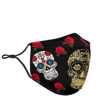 Load image into Gallery viewer, Sugar Skull Gold