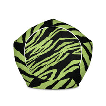 Load image into Gallery viewer, Green Tiger-Bean Bag Chair w/ filling